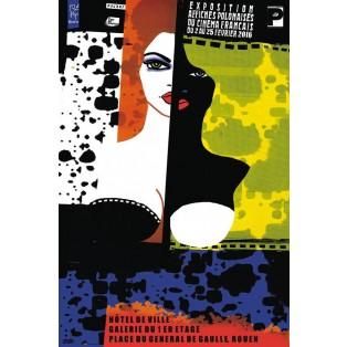 Plakatausstellung französisches Kino - polnische Plakate Monika Starowicz Polnische Ausstellungsplakate