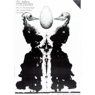 Die Zofen Franciszek Starowieyski Polnische Theaterplakate