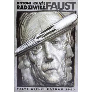 Faust Franciszek Starowieyski Polnische Theaterplakate