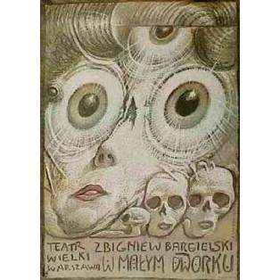 Im kleinen Landhaus Franciszek Starowieyski Polnische Opernplakate