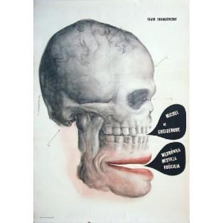 Ballade vom grossen Makabren Franciszek Starowieyski Polnische Theaterplakate