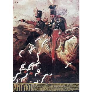 Antiquitäten Krzysztof Wojciechowski Franciszek Starowieyski Polnische Filmplakate