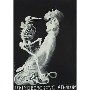 Dance Macabre  Franciszek Starowieyski Polnische Theaterplakate