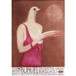 Diskrete Charme der Bourgeoisie Luis Bunuel Franciszek Starowieyski Polnische Filmplakate