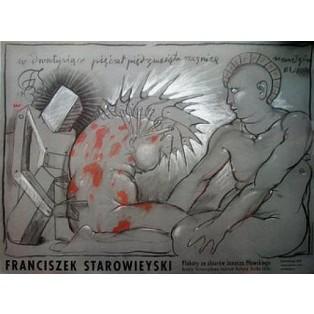 Plakate aus der Sammlung Janusz Pławski  Franciszek Starowieyski Polnische Ausstellungsplakate