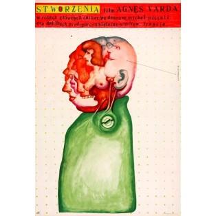 Geschöpfe Agnès Varda Franciszek Starowieyski Polnische Filmplakate