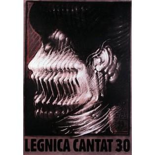 Legnica Cantat 30  Franciszek Starowieyski Polnische Plakate