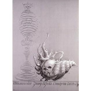 Kunstsammlung Wilanów Franciszek Starowieyski Polnische Ausstellungsplakate