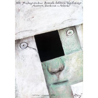 Exlibrisbiennale - 16. Stasys Eidrigevicius Polnische Ausstellungsplakate