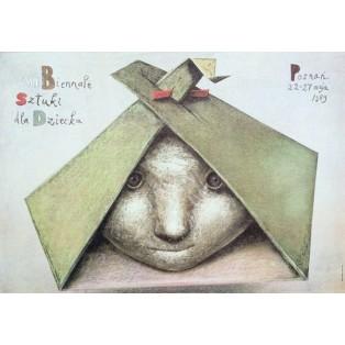 Biennale der Kunst für Kinder - 8. Stasys Eidrigevicius Polnische Ausstellungsplakate
