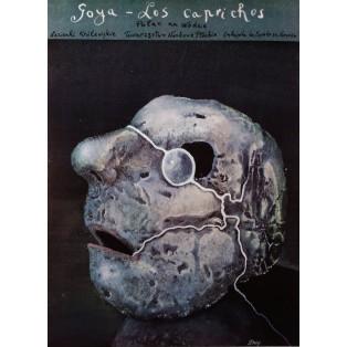 Goya Los Caprichos Stasys Eidrigevicius Polnische Ausstellungsplakate