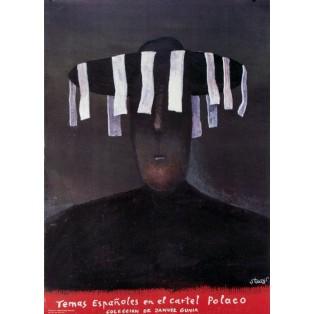 Temas Espanoles in El Cartel Polaco Stasys Eidrigevicius Polnische Ausstellungsplakate
