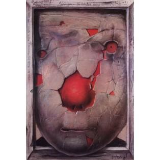 Nostalghia Andrey Tarkovskiy Stasys Eidrigevicius Polnische Filmplakate