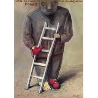 Geschichte Witold Gombrowicz Stasys Eidrigevicius Polnische Theaterplakate