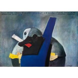 Finnische Plakat des 20. Jahrhundert Stasys Eidrigevicius Polnische Ausstellungsplakate