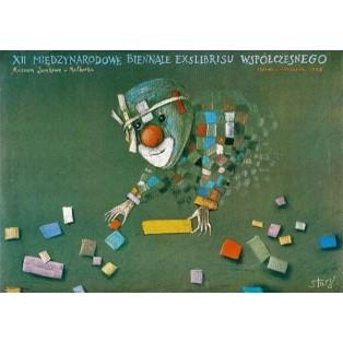 Exlibrisbiennale Malbork 12. Stasys Eidrigevicius Polnische Ausstellungsplakate