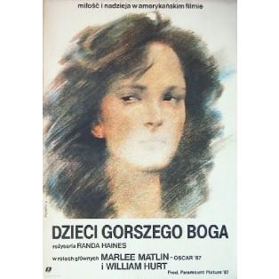 Gottes vergessene Kinder Randa Haines Waldemar Świerzy Polnische Filmplakate