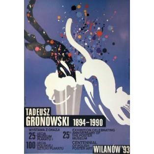 Tadeusz Gronowski 1894-1990 Waldemar Świerzy Polnische Ausstellungsplakate
