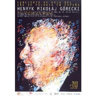 Henryk Mikołaj Górecki Waldemar Świerzy Polnische Musikplakate