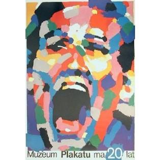 Plakatmuseum wird 20 Waldemar Świerzy Polnische Plakate