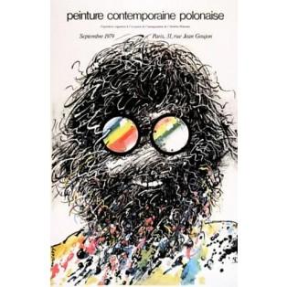Peinture contemporaine polonaise Paris Waldemar Świerzy Polnische Ausstellungsplakate