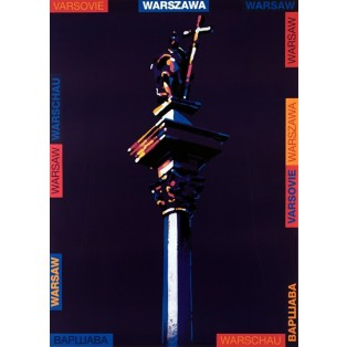 Warschau  Waldemar Świerzy Polnische Plakate