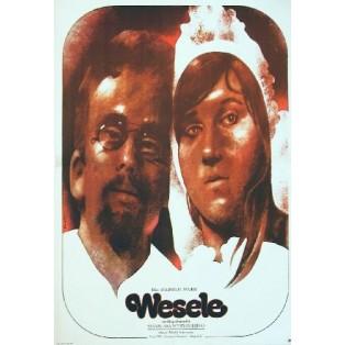 Hochzeit Andrzej Wajda Waldemar Świerzy Polnische Filmplakate
