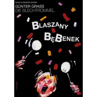 Blechtrommel Waldemar Świerzy Polnische Theaterplakate