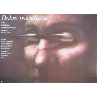 Gutes Licht Karel Kachyna Wiesław Wałkuski Polnische Filmplakate