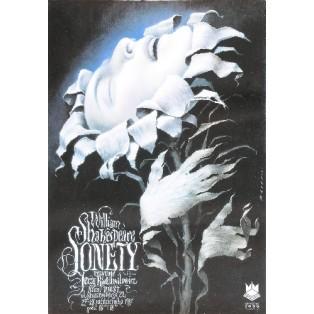 Sonetten Wiesław Wałkuski Polnische Theaterplakate