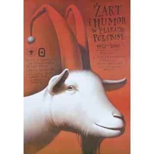 Witz und Humor im Plakat  Wiesław Wałkuski Polnische Ausstellungsplakate