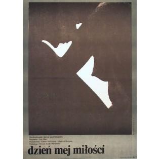 Tag für meine Liebe Juraj Herz Mieczysław Wasilewski Polnische Filmplakate
