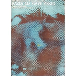 Jedem seine Hölle Andre Cayatte Mieczysław Wasilewski Polnische Filmplakate