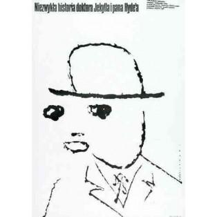 Seltsame Fall des Dr. Jekyll und Mr. Hyde Mieczysław Wasilewski Polnische Filmplakate