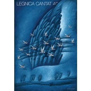 Legnica Cantat 40 Leszek Wiśniewski Polnische Opernplakate