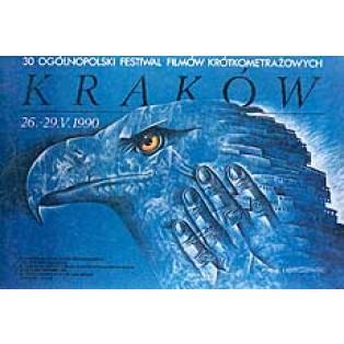 Kurzfilmfestival Leszek Wiśniewski Polnische Filmplakate