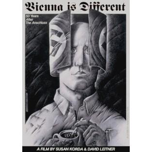 Wien ist anders Leszek Wiśniewski Polnische Filmplakate