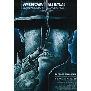 Verbrechen als Ritual Leszek Wiśniewski Polnische Filmplakate