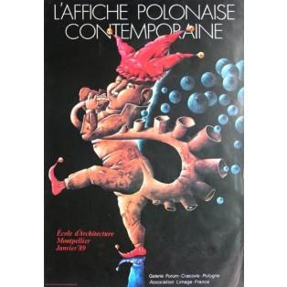 Affiche Polonaise Contemporaine Leszek Wiśniewski Polnische Ausstellungsplakate