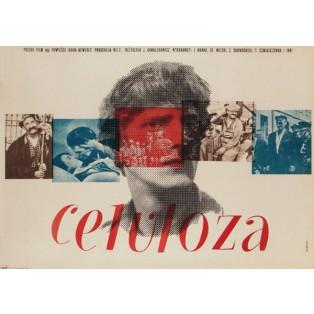 Eines Menschen Weg Wojciech Zamecznik Polnische Filmplakate