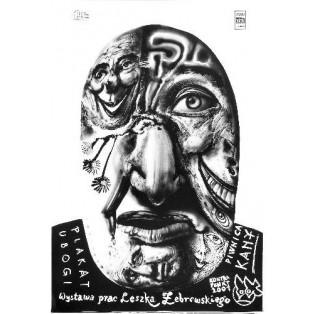Arme Plakat, Kana Leszek Żebrowski Polnische Ausstellungsplakate