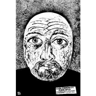 Arme Plakat, Wołomin Leszek Żebrowski Polnische Ausstellungsplakate