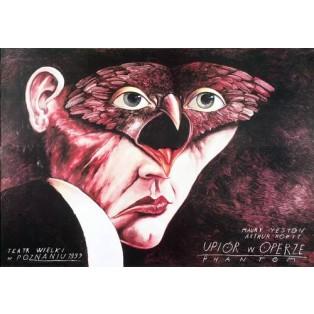 Phantom der Oper Leszek Żebrowski Polnische Opernplakate