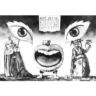 Wokol opery - Rund um die Oper Leszek Żebrowski Polnische Opernplakate