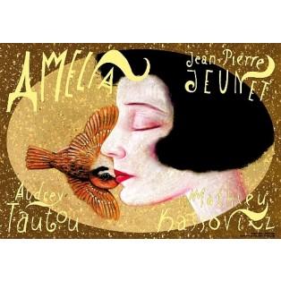 Fabelhafte Welt der Amelie Jean-Pierre Jeunet Leszek Żebrowski Polnische Filmplakate