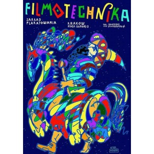 Filmotechnika Lajkonik Leszek Żebrowski Polnische Plakate