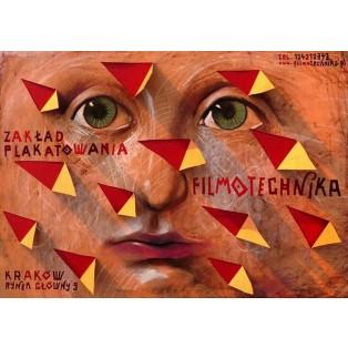 Filmotechnika Leszek Żebrowski Polnische Plakate