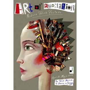 Art of Association Leszek Żebrowski Polnische Ausstellungsplakate