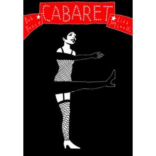 Cabaret Bob Fosse Leszek Żebrowski Polnische Filmplakate