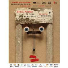 Posterausstellung in Sibiu, Rumänien